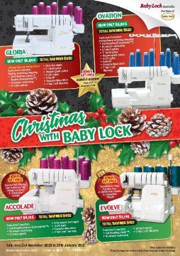 BabyLock 2020  Christmas Flyer