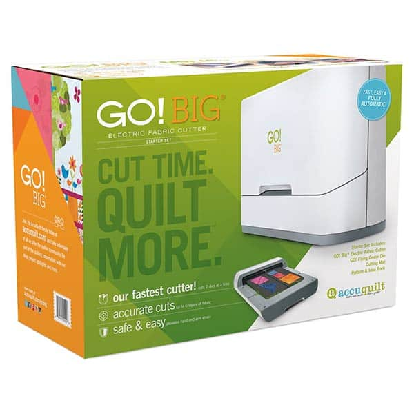 Accuquilt GO BIG Fabric Cutter