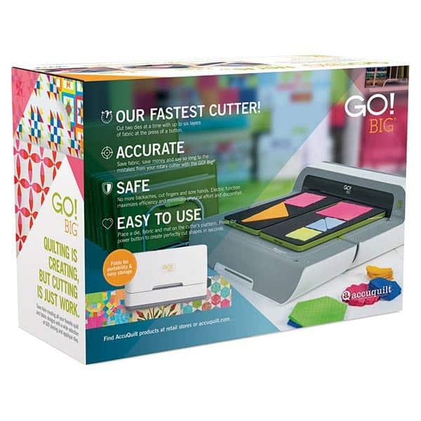 Accuquilt GO BIG Fabric Cutter
