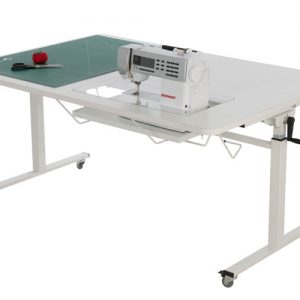 Horn Height Adjustable Sewing Cutting Table
